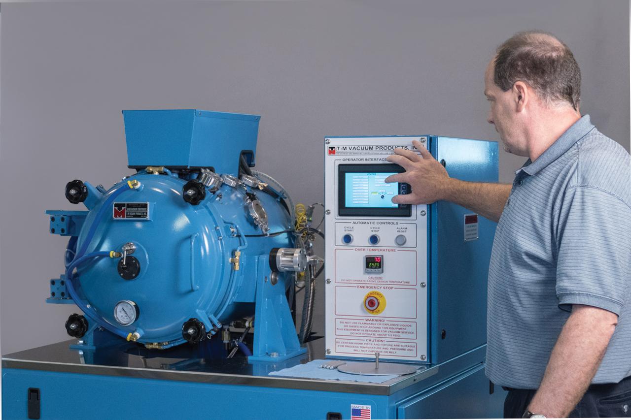 vh hv flipper u2122 vacuum furnace system tmvacuum